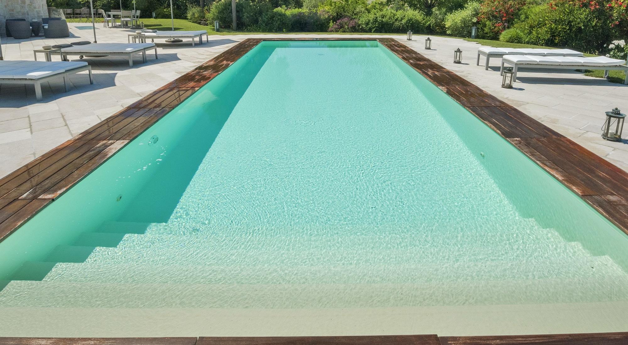 Acqua Azzurra Piscine rivestimento piscina in pvc: tipologie e colori