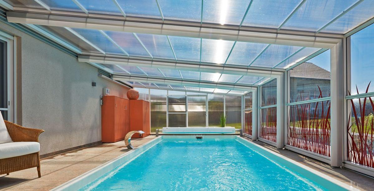 Coperture Mobili Per Piscina : Copertura telescopica per piscina professione piscina