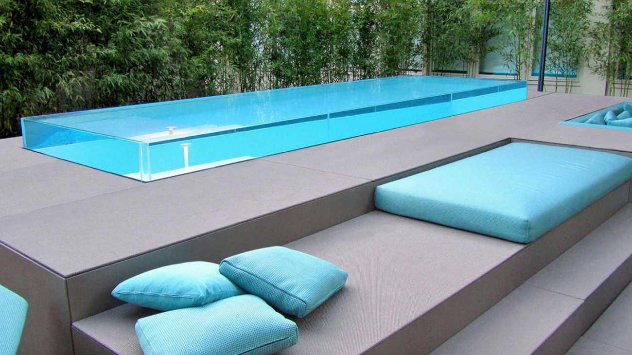 piscine in vetro professione piscina