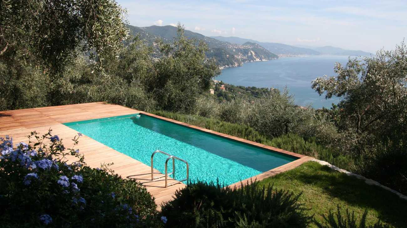 aboveground deck pools