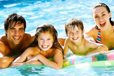sfruttare la piscina