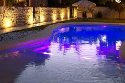 luci a led piscina