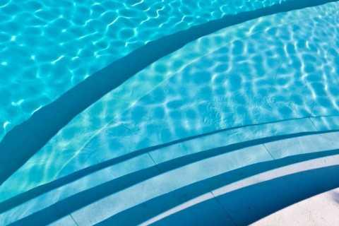 piscina entrata personalizzata