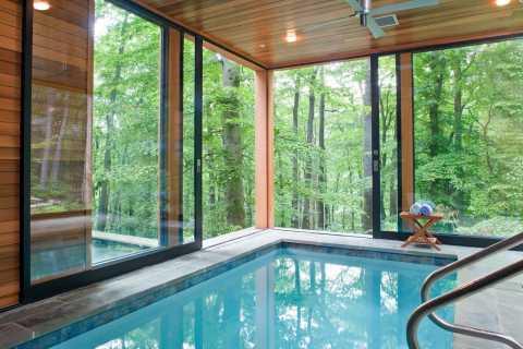 piscina interna moderna