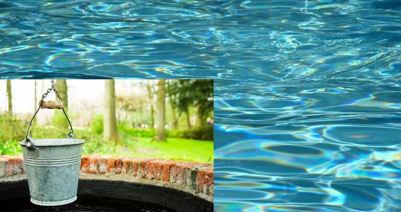 piscina: acqua di pozzo o di acquedotto