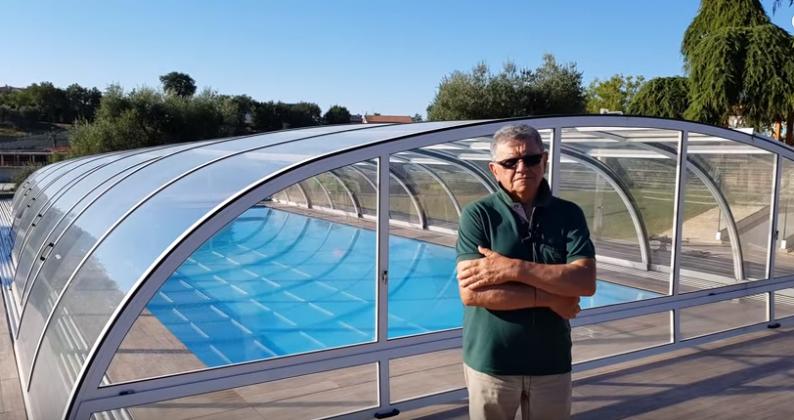 la piscina per i nipoti