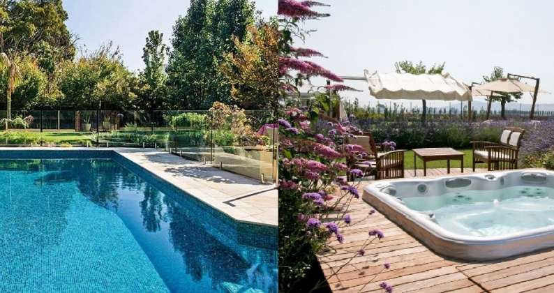 piscina e vasca idromassaggio