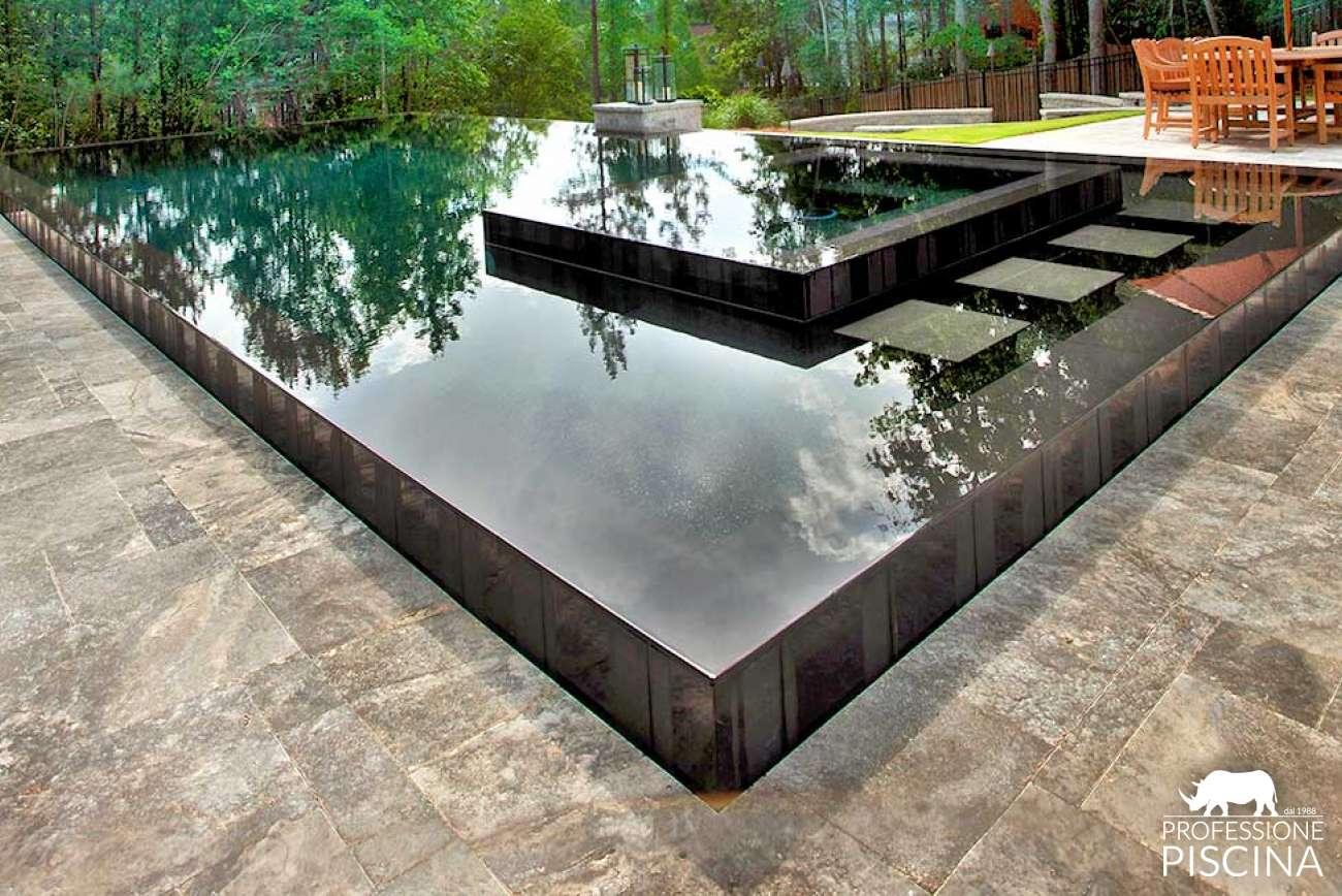 Piscine Sfioro A Cascata piscine a sfioro | professione piscina